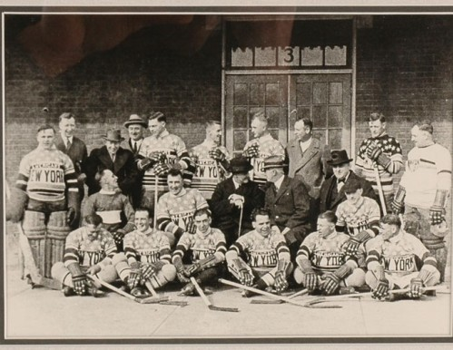 THE NEW YORK AMERICANS - THEIR INAUGURAL SEASON - 1925-26 - THERE RECORD WAS 12-22-4 - YOU CAN SEE IT IN THEIR FACES