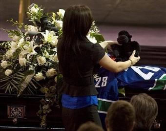 Bourdon Funeral Hockey
